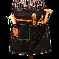 Denim garden tool belt
