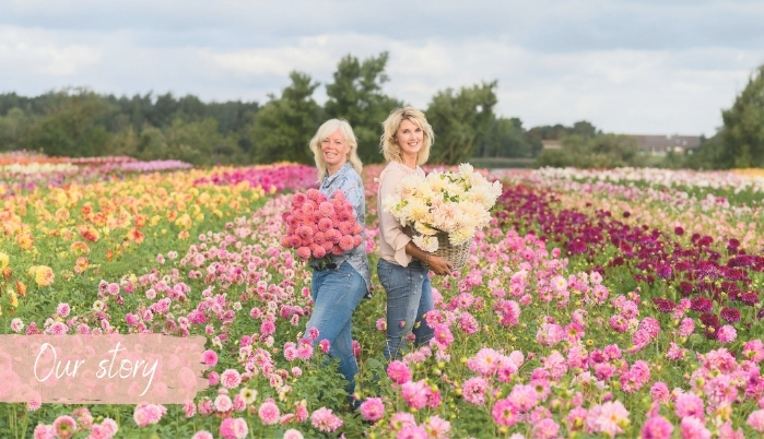 Our Story - Marlies & Linda - FAM Flower Farm